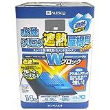 カンペハピオ 水性シリコン遮熱屋根用 銀黒 14K
