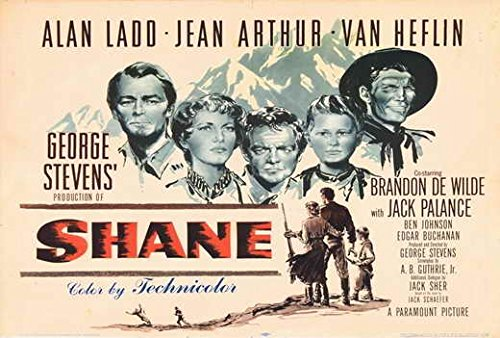 Shane POSTER Movie (27 x 40 Inches - 69cm x 102cm) (1966) (Style C)