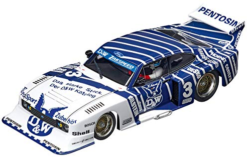 """Carrera 20030887 Ford Capri Turbo """"D&W-Zakspeed Team, No.3"""", Mehrfarbig"""