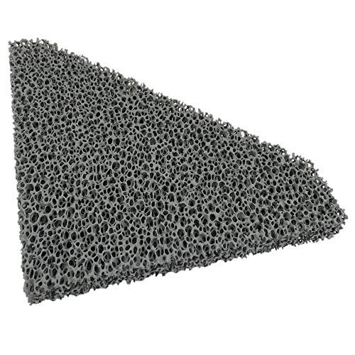 Flamado Kaminofen Feinstaub Rußfilter 219 x 200 x 25 mm Kamin Brennraum Ersatzteil