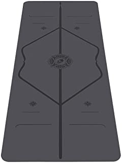 Liforme Gratitude Yoga Mat - Patented Alignment System, Warrior-Like Grip, Non-Slip, Eco-Friendly and Biodegradable, Swea...
