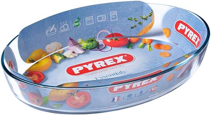 Pyrex 346B000 Glass Oval Roaster, 35x24 centimetre: Amazon.co.uk: Kitchen &  Home