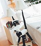 Lámparas de escritorio FHW Lámparas de pie Simple Mesa Lámpara de jardín Creativo Tela de Dibujos Animados Ovejas Lámpara de pie Dormitorio Lámpara de Noche Lámpara de vivero