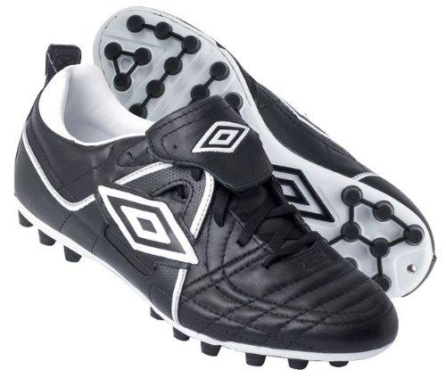 Umbro Speciali Premier M26 - Botas de fútbol para niño, color Negro, talla 9.5 UK