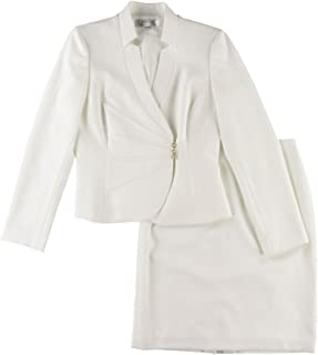 Asymmetrical Jacket Skirt Suit