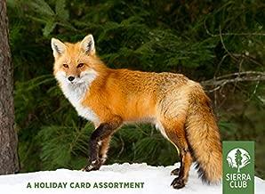 Winter Wildife Assorted Holiday Cards by Sierra Club