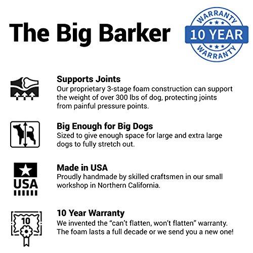 Product Image 7: Big Barker 7″ Pillow Top Orthopedic Dog Bed