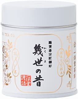 一保堂茶舗 抹茶 幾世の昔40g缶
