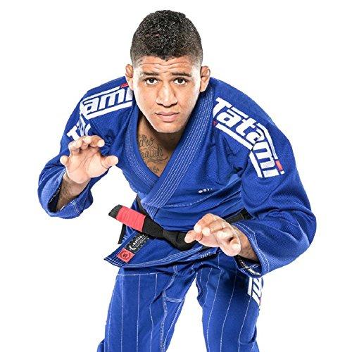 Tatami Fightwear Style 6.0 Mens Jiu-Jitsu Gi Medium Weight Durable Professional Made Jiujitsu Uniform Pants and Jacket, Hombre, BLU e Bianco, A1