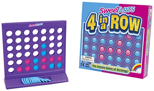 New Entertainment Sweetarts 4 in A Row Game (2 Players) -  Intex Entertainment, 1092