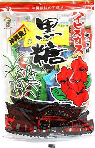 ハイビスカス黒糖 130g×9袋 海邦商事 昔ながらの製法で作られた伝統的な黒糖菓子 ミネラルたっぷり しっかりとした黒糖の風味 個包装でばらまきお土産にも最適