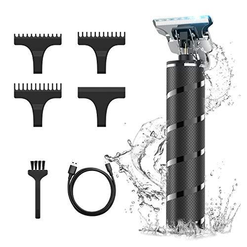 Tagliacapelli Uomo, Tagliacapelli Uomo Professionale, Macchinetta per capelli, Tagliacapelli 0 mm Precisione con 3 Pettini