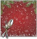Set di 6 tovagliette riutilizzabili per tavolo da pranzo, ideali per le vacanze invernali, ideali per l'uso quotidiano.