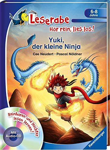 Yuki, der kleine Ninja - Leserabe ab 1. Klasse - Erstlesebuch für Kinder ab 6 Jahren (Leserabe - Hör rein, lies los!)