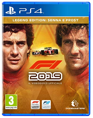 F1 2019 Legends Ed. - - PlayStation 4