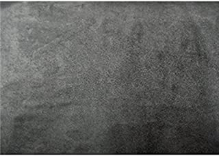 Upholstery Micro Suede Headliner Fabric by The Yard (Charcoal Gray)