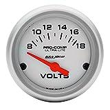 Auto Meter 4391 Ultra-Lite Electric Voltmeter Gauge