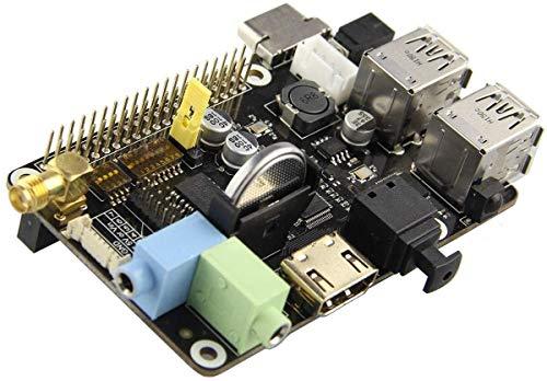 FORETTY DIANLU17 DIY-Kit-Modul X200 Multifunktions-Erweiterungskarten-Kit für Raspberry Pi B + Anzeigezubehör Computer Stabile Leistung.
