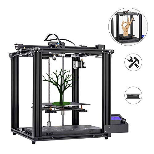 3D Printer,DIY kit 3D-Drucker with Upgrade Silent Motherboard PTFE Tube Metal extruder 220 * 220 * 300mm Build Volume Double Y axis System Resume Printing