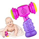 SUGOO Gift for 6-24 Months Baby Girls, Music Hammer Toy for 12-18 Months Toddler Boys Kids Shaking Hammer Toy Gift Age 12-24 Months Kid Bosy Birthday Gift for Girl