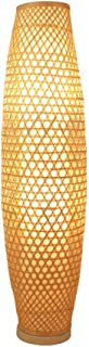 Led Desk Lamp Rattan Floor Lamp - Standing Lamps-Brown (Size : 25 * 100cm),Colour:30 * 130cm 灯 (Color : 30 * 130cm)