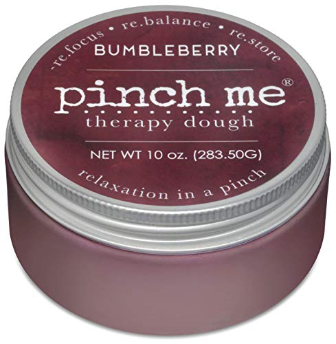 Pinch Me Therapy Dough - Holistic Aromatherapy Stress Relieving Putty - 10 Ounce Bumbleberry Scent
