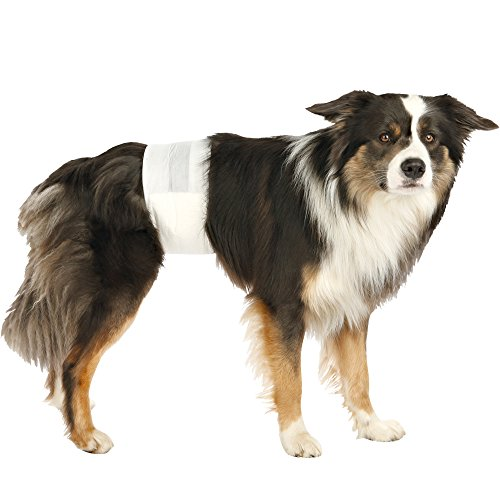 Trixie TX-23641 Diapers for Male Dogs S–M: 30–46 cm, 12pcs