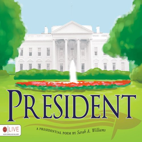 President audiobook cover art