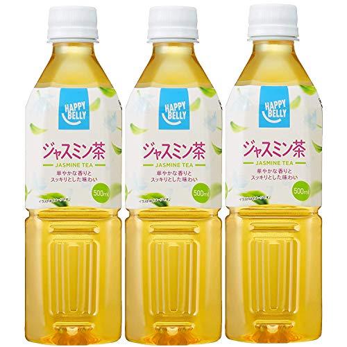 Amazon Happy-Belly ジャスミン茶 500ml×3本