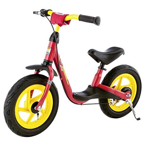 """Kettler Laufrad """"Spirit Air"""" – Farbe: rot und gelb – Reifengröße: 12,5 Zoll, ab 2 Jahren geeignet – Lauflernrad für Jungs und Mädchen – verstellbare Höhe – mit Luftbereifung"""