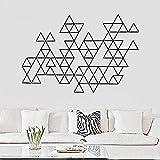 Pegatinas De Pared Pegatinas De Decoración De Pared De Moda 40X60Cm Adornos Simples Geométricos Modernos Arte De La Sala De Estar