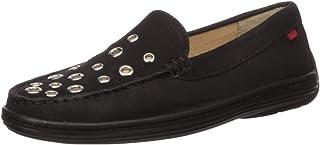 MARC JOSEPH NEW YORK Kids' Leather Made in Brazil Mott Street Grommet Detail Loafer