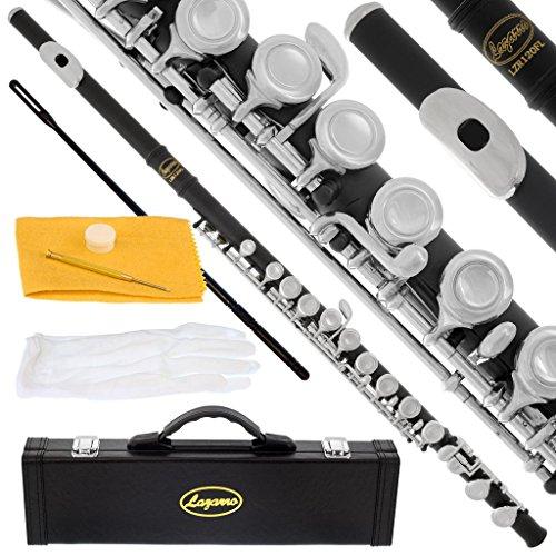 120-BK - BLACK/NICKEL Keys Closed C Flute...