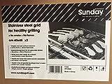 Sunday grill Doppia bistecchiera griglia Inox Biologica 4012060 40x45x2