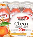 Premier Protein Clear Drinks Peach 6 CT 16.9 oz