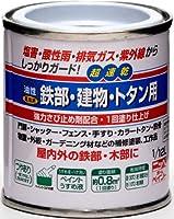 ニッペ 油性 鉄部・建物・トタン用 1/12L ブラック