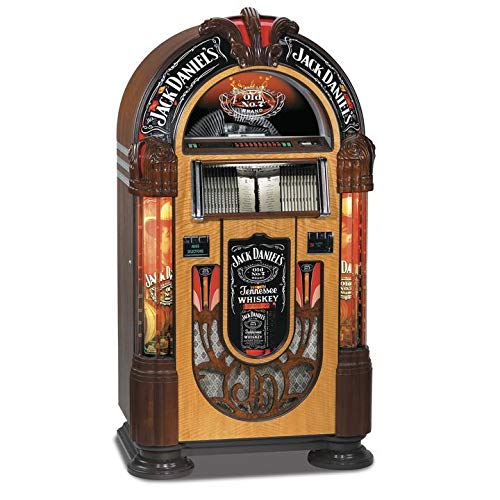 New Rock-Ola | Full Size Bubbler CD Jukebox with Bluetooth | Jack Daniels Edition