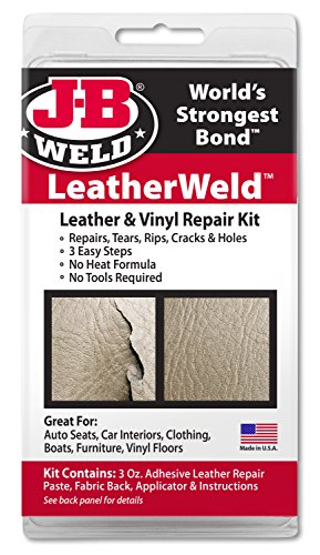 J-B Weld 2130 Vinyl and Leather Repair Kit Arizona