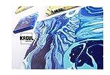 Kreul 87215 – Solo Goya Pouring Fluid, flüssiges Acrylmedium für Gieß- und Fließtechniken, auf Wasserbasis, optimiert das Fließverhalten von Acrylfarben, 2500 ml Eimer - 2