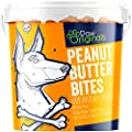 Peanut Butter Dog Treat Biscuits | Delicious Peanut Butter Bite Treats For Dogs & Puppies | Wheat Free & Packed With Vitamins & Minerals | Helps Keep Teeth Clean | Great For Reward, Training