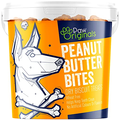Peanut Butter Dog Treat Biscuits | Delicious Peanut Butter Bite Treats For...