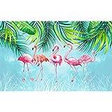 DIY 5D Full Diamond Painting Kits Crystal Art Kits Crystal Strass Stickerei Weihnachten Kreuzstich Kunst Craft Supply Canvas Diamond Art Flamingo für Küche Hotel Salon Wand 30 x 40 cm