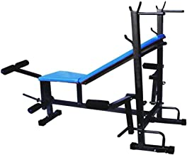 ProDuman Home Gym Excercise Bench 5 In 1 Weight Excercise Bench (INCLINE+ DECLINE +FLATE+LEG CURL+LEG EXTENTIONS)