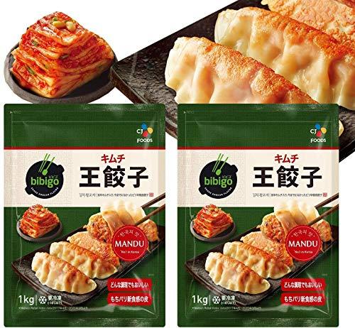 ビビゴ 王餃子 (キムチ)(35g×29個) 1kg 12個セット 韓国餃子 冷凍 ギフト にも 美味しい お取り寄せ bibigo ビビゴ