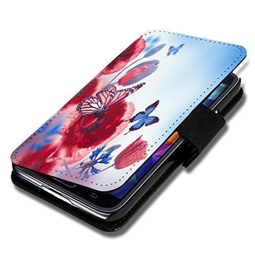 Book Style Flip Handy Tasche Hülle Schutz Hülle Schale Motiv Foto Etui für Wiko Darkmoon - A36 Design12