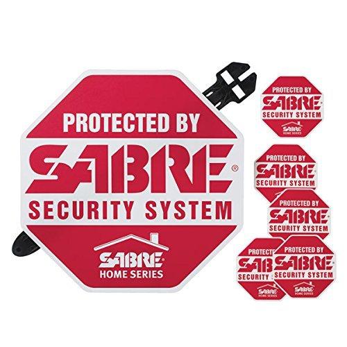 Sabre Home Series HS-SYS - Placa de Alarma de Seguridad en casa
