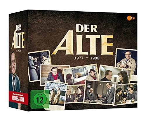 Der Alte - Siegfried Lowitz Box 1977-1986 (39 DVDs) (exklusiv bei Amazon.de)