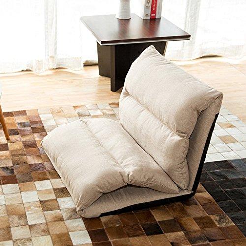 Simple Confortable Lazy Sofa110 * 56 * 62cm (Couleur : Kaki, Taille : 110 * 56 * 62cm)