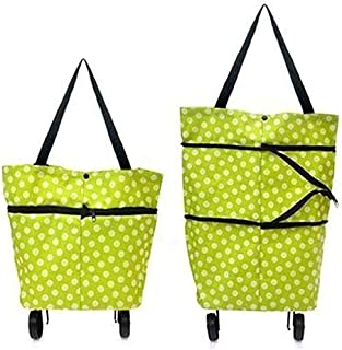 Generic Rio Lightweight Shopping Trolley Wheel Folding Travel Luggage Bag
