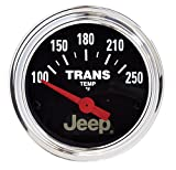 Auto Meter 880260 Jeep Electric Transmission Temperature Gauge, 2 1/16'